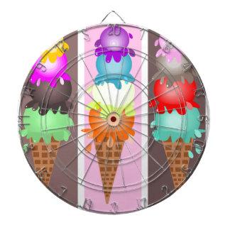 アイスクリームコーン ダーツボード