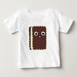 アイスクリームサンドイッチ ベビーTシャツ