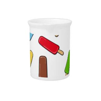 アイスクリームパターン ピッチャー
