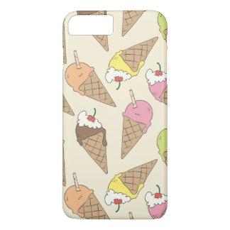 アイスクリームパターン iPhone 8 PLUS/7 PLUSケース