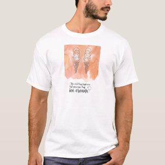 アイスクリームファンのための夏の引用文 Tシャツ