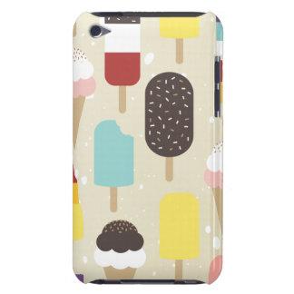 アイスクリーム及び御馳走Ipod touchの凍っていられていた場合 Case-Mate iPod Touch ケース