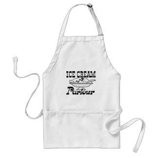 アイスクリーム店 スタンダードエプロン