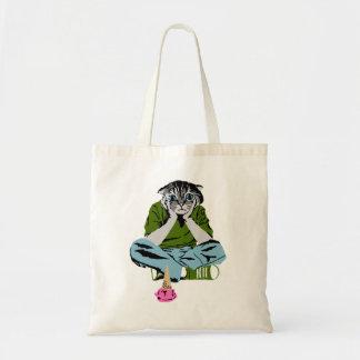アイスクリーム猫のバッグ トートバッグ
