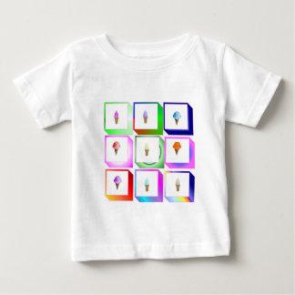 アイスクリーム箱 ベビーTシャツ