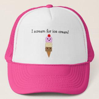 アイスクリーム キャップ