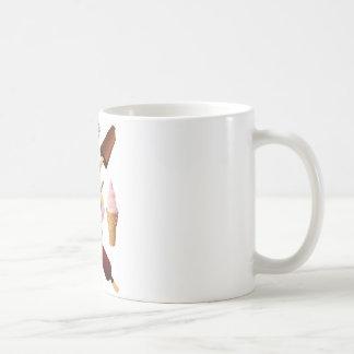 アイスクリーム コーヒーマグカップ