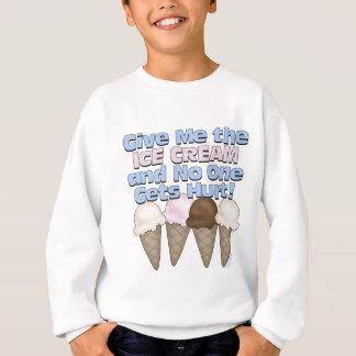アイスクリーム スウェットシャツ