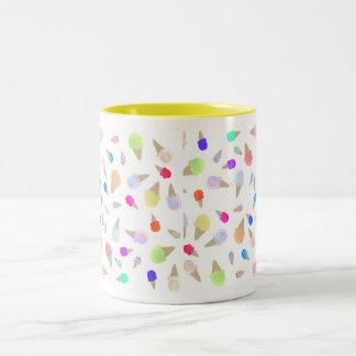 アイスクリーム ツートーンマグカップ
