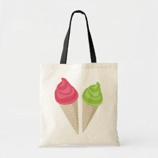 アイスクリーム トートバッグ