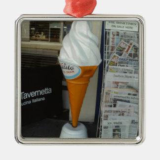 アイスクリーム メタルオーナメント