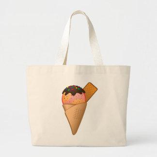 アイスクリーム ラージトートバッグ