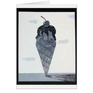 アイスクリームNotecard カード