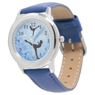 アイススケーターの腕時計 腕時計