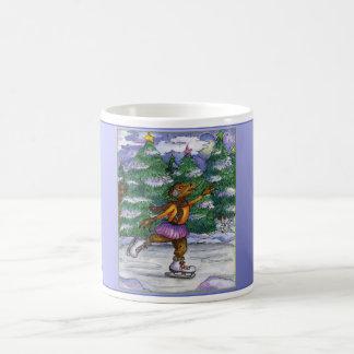 アイススケートのチュパカブラのマグ コーヒーマグカップ