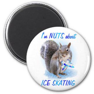 アイススケートのナット マグネット