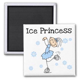 アイススケートのプリンセスのTシャツおよびギフト マグネット