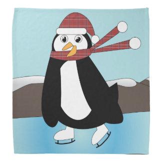 アイススケートのペンギン バンダナ