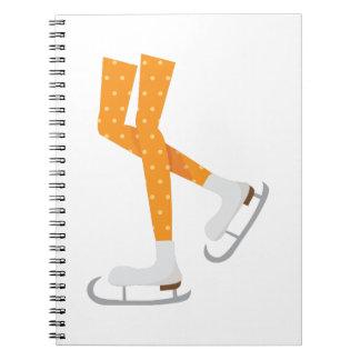 アイススケート ノートブック