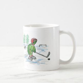 アイスホッケーのカメのマグ コーヒーマグカップ