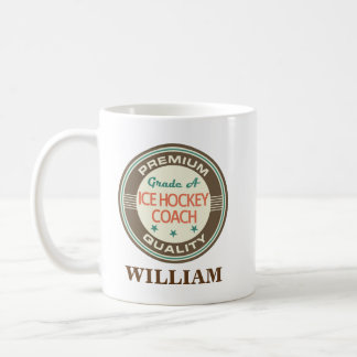 アイスホッケーのコーチの名前入りなオフィスのマグのギフト コーヒーマグカップ