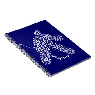 アイスホッケーのノート ノートブック