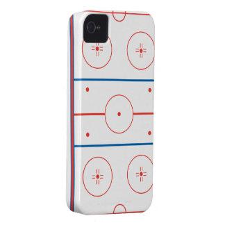 アイスホッケーのリンクのグラフィック Case-Mate iPhone 4 ケース