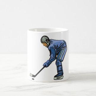 アイスホッケーの時間マグ コーヒーマグカップ