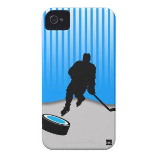 アイスホッケーのiPhone 4の穹窖IDの場合 Case-Mate iPhone 4 ケース