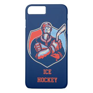 アイスホッケープレーヤーの芸術の携帯電話カバー iPhone 7 PLUSケース