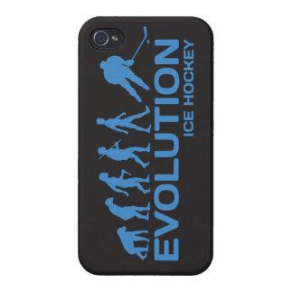 アイスホッケープレーヤーの進化のおもしろいなiPhone 4の4s場合 iPhone 4/4Sケース