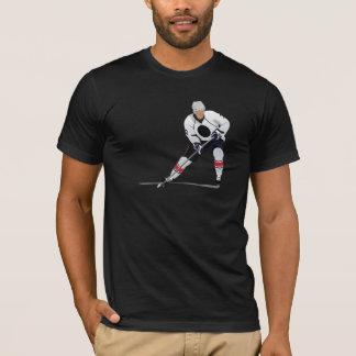 アイスホッケープレーヤーメンズTシャツ Tシャツ
