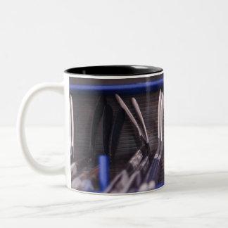 アイスホッケー用スティックのマグ ツートーンマグカップ