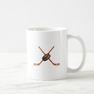 アイスホッケー用スティック及びパック コーヒーマグカップ