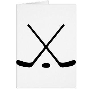 アイスホッケー用スティック カード