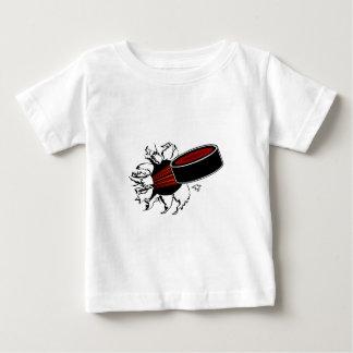 アイスホッケー用パック ベビーTシャツ