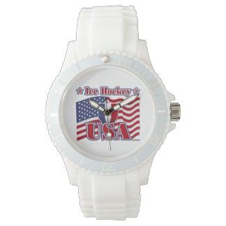 アイスホッケー米国 腕時計