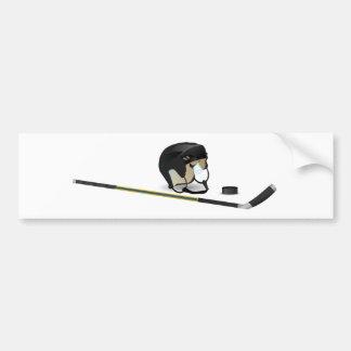 アイスホッケー バンパーステッカー