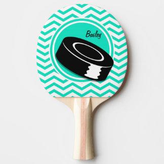 アイスホッケー; 水緑のシェブロン 卓球ラケット