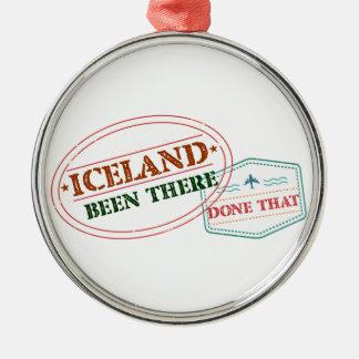 アイスランドそこにそれされる メタルオーナメント
