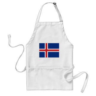 アイスランドの国旗 スタンダードエプロン