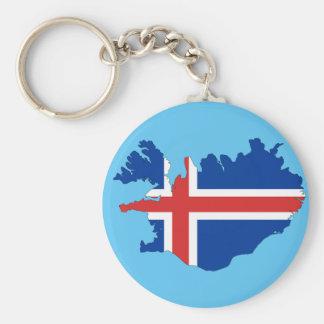 アイスランドの国 キーホルダー
