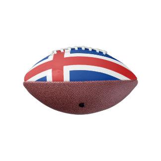 アイスランドの小型フットボールの旗 アメリカンフットボール