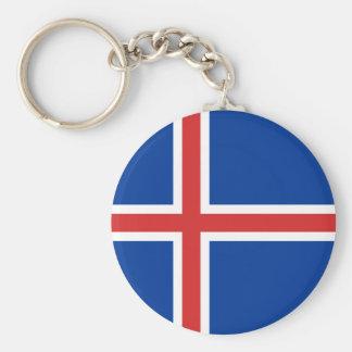 アイスランドの旗 キーホルダー