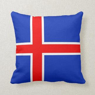 アイスランドの旗 クッション
