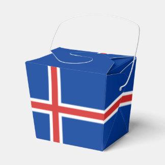 アイスランドの旗 フェイバーボックス