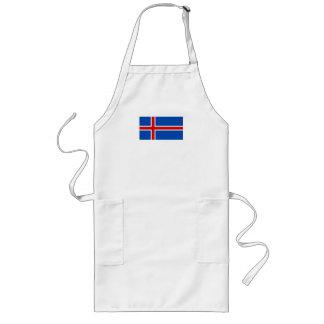 アイスランドの旗 ロングエプロン
