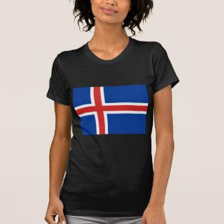 アイスランドの旗 Tシャツ
