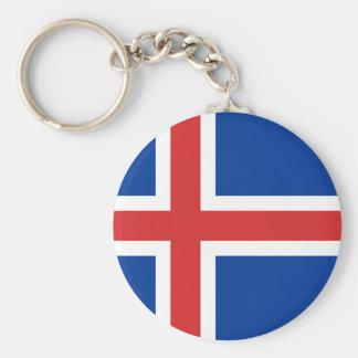 アイスランドの旗Keychain キーホルダー
