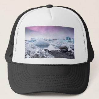 アイスランドの氷河礁湖 キャップ